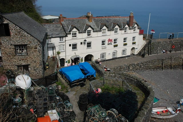 Clovelly Harbour, Clovelly, Devon
