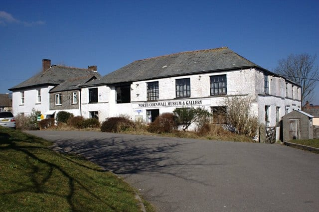 North Cornwall Museum, Camelford, Cornwall