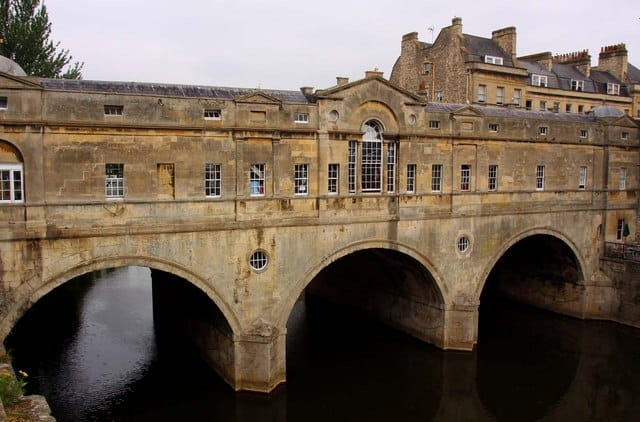 Palladian Pulteney Bridg, Bath, Somerset