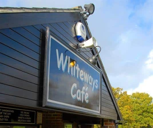 Whiteways Cafe, Bury Hill, Arundel, West Sussex