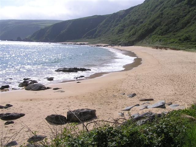 Kinnagoe Bay Beach, Inishowen, Donegal, Ireland