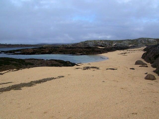 Coral Strand Beach, Ballyconneely, Connemara, Galway, Ireland