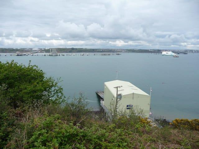 Angle lifeboat station, Angle Point, Pembroke, Pembrokeshire