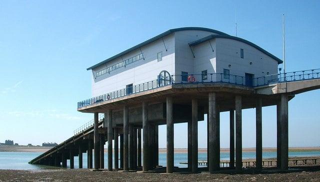 Barrow lifeboat station, Roa Island, Barrow-in-Furness, Cumbria