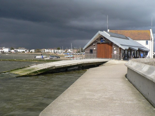 Mudeford lifeboat station, Mudeford, Christchurch, Dorset