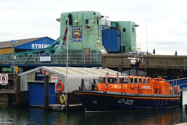 Poole lifeboat station, Poole, Dorset