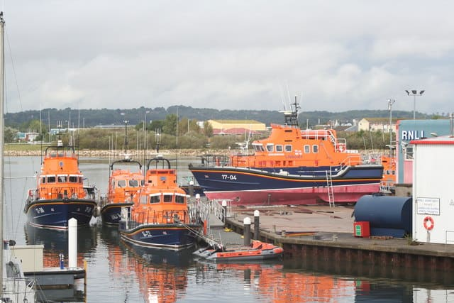 RNLI Lifeboat College, Poole, Dorset