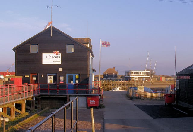 Rye Harbour lifeboat station, Rye Harbour, Rye, East Sussex