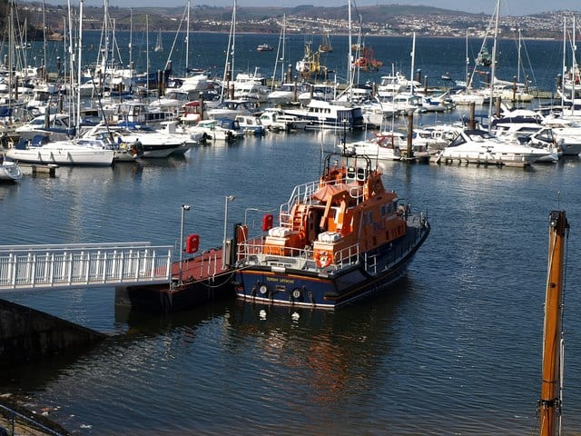 Torbay lifeboat station, Brixham, Devon