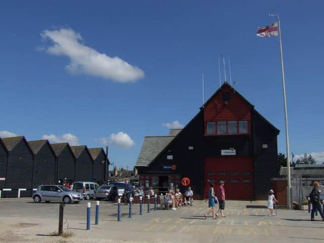 Whitstable lifeboat station, Whitstable, Kent