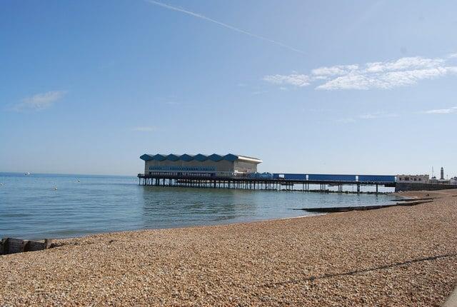 Herne Bay pier, Herne Bay, Kent