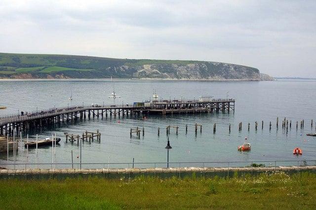 Swanage pier, Swanage, Dorset