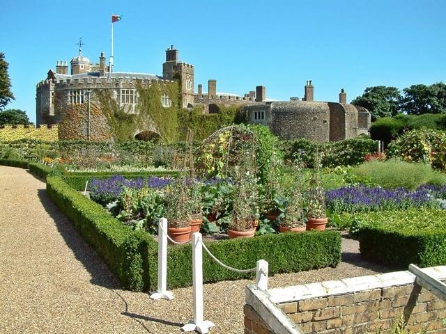 Walmer Castle and Gardens, Walmer, Deal, Kent