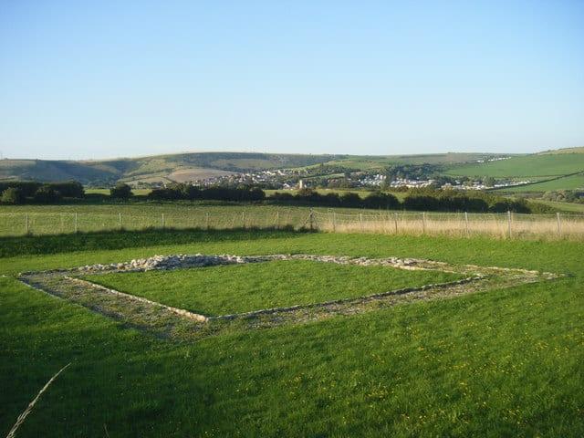 Jordan Hill Roman Temple, Bowleaze Coveway, Weymouth, Dorset