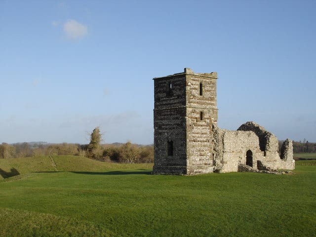 Knowlton Church and Henge, Knowlton, Wimborne, Dorset