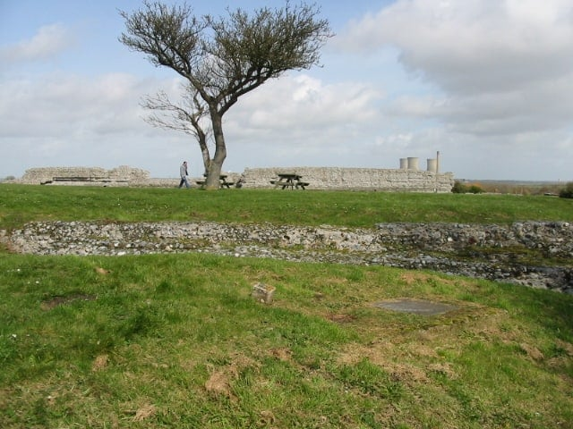 Richborough Roman Fort and Amphitheatre, Sandwich, Kent