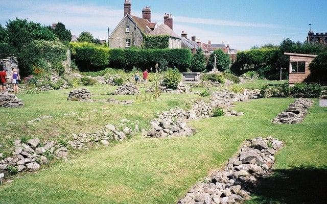 Shaftesbury Abbey & Gold Hill, Shaftesbury, Dorset