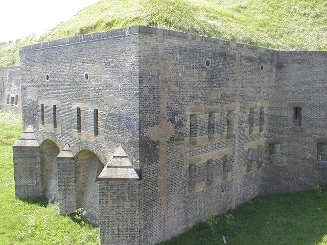 Drop Redoubt, Dover, Kent
