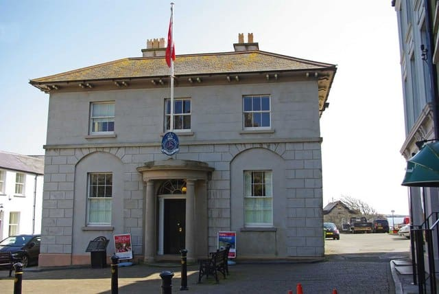 Old House of Keys, Castletown, Rushen, Isle of Man