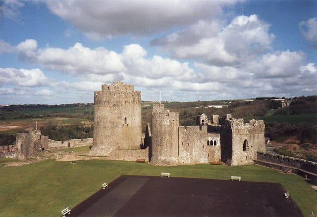 Pembroke Castle, Pembroke, Pembrokeshire