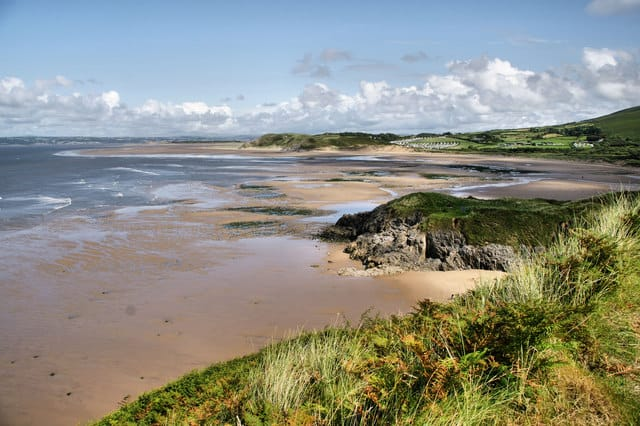 Broughton Bay Beach, Llangennith, Swansea Bay and The Gower