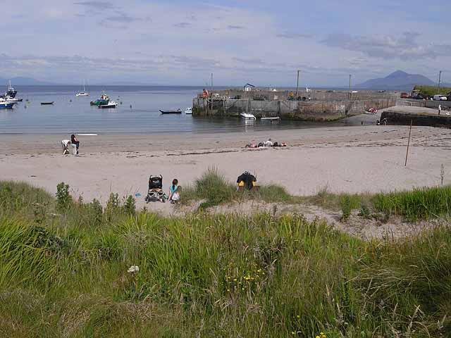 Harbour-beach-Clare-Island