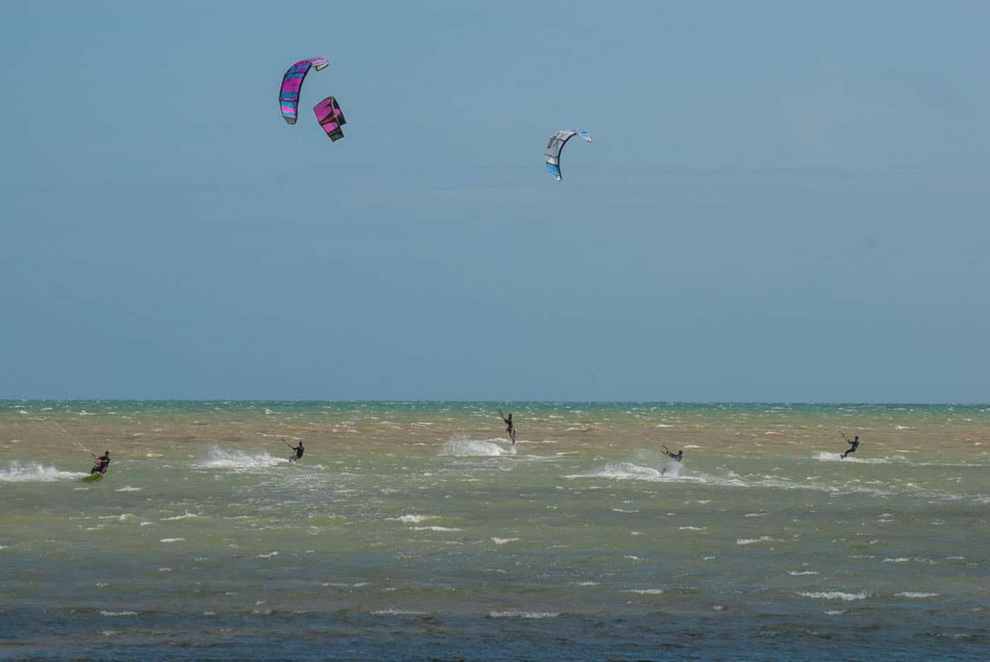 Littlehampton Kitesurfing at Littlehampton and Rustington beaches, West Sussex