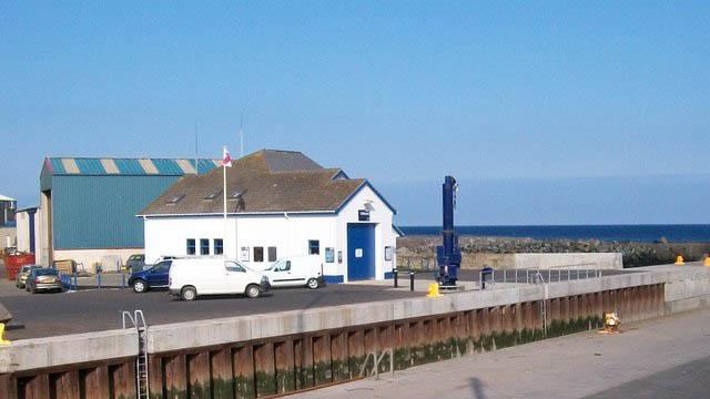 Kilkeel lifeboat station, Kilkeel, County Down