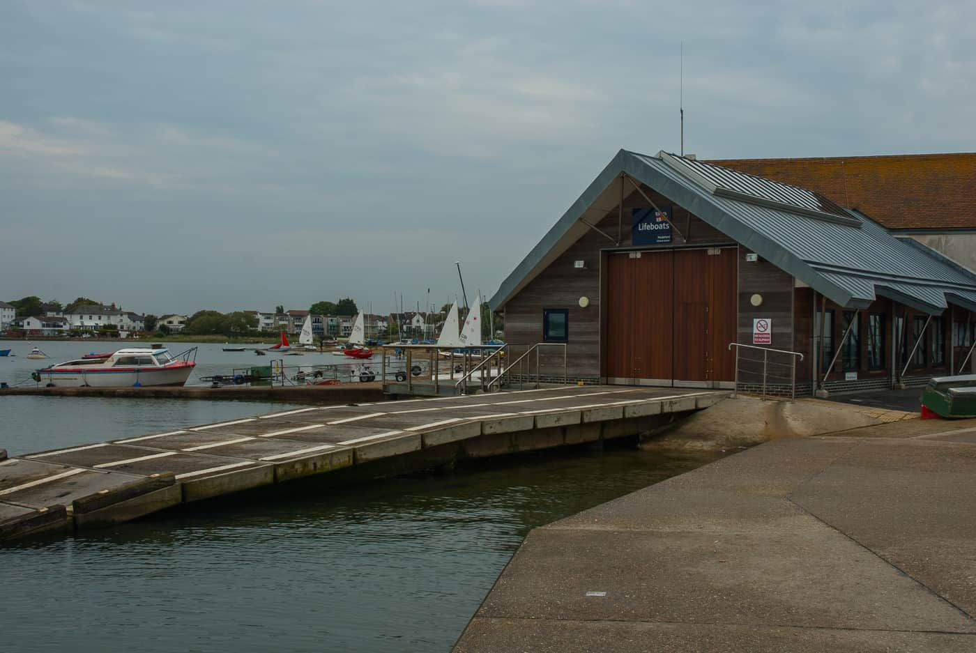 Mudeford lifeboat station, Mudeford Quay, Mudeford Christchurch Dorset