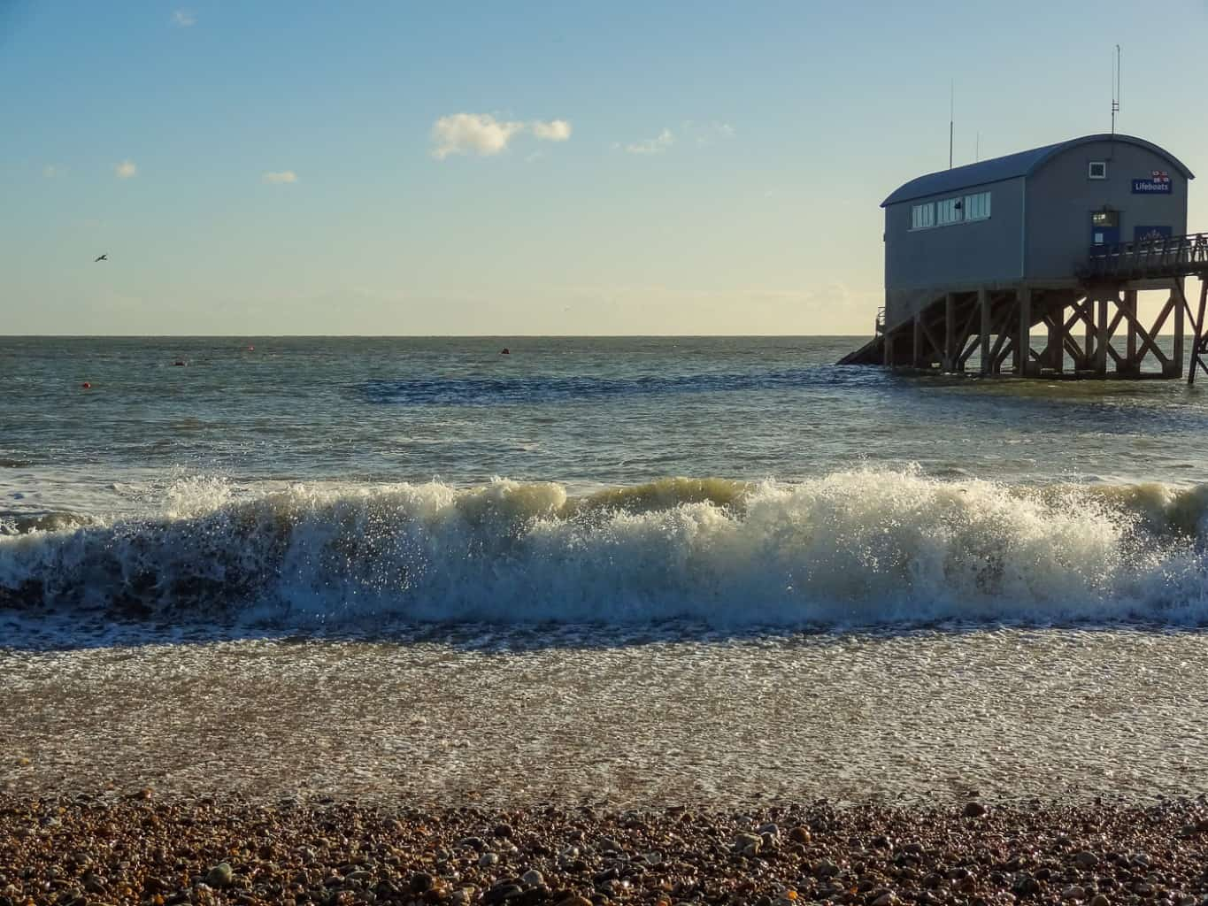 Selsey lifeboat station, Selsey East beach Selsey West Sussex