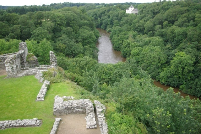 Cilgerran Castle, Cilgerran, near Cardigan, Pembrokeshire