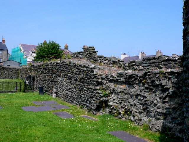Caer Gybi Roman Fort, Holyhead, Isle of Anglesey, Wales