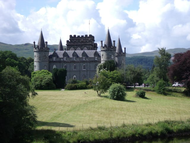 Inveraray Castle, Inveraray, Loch Fyne, Argyll and Bute