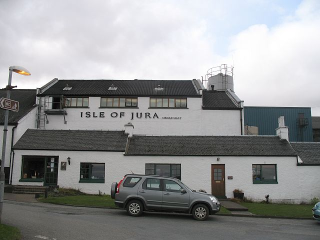 Isle of Jura Distillery, Isle of Jura, Inner Hebrides