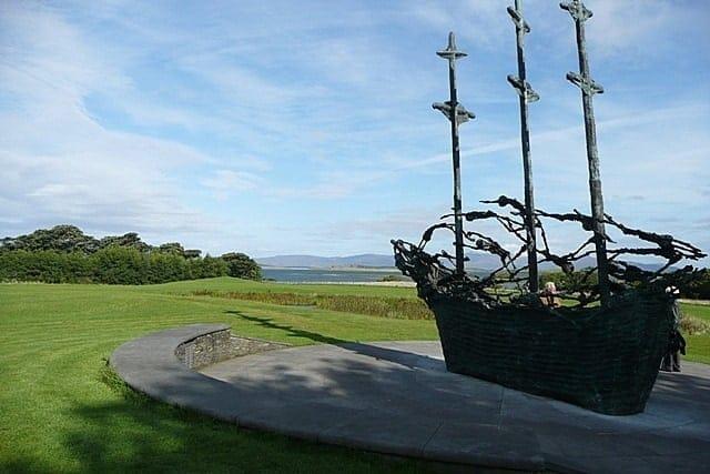 National Famine Memorial, Murrisk, West Mayo, Mayo, Ireland