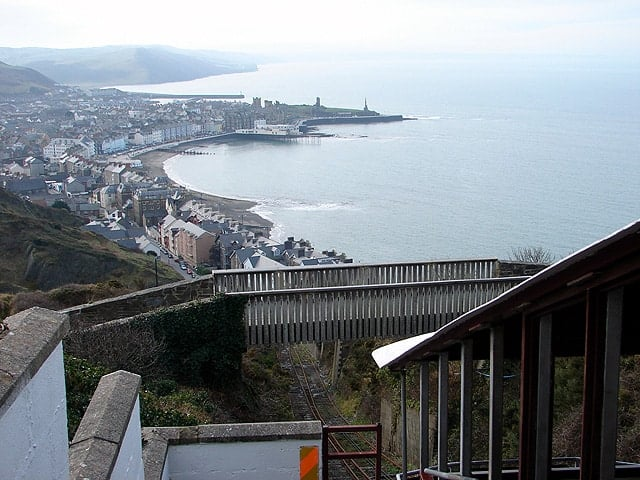 Constitution Hill, Aberystwyth, Ceredigion, Wales