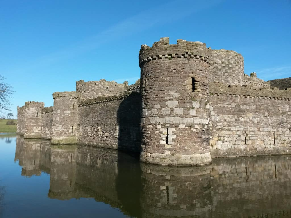 UNESCO World Heritage Site, Beaumaris Castle, Wales