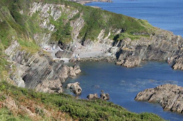 Palace Cove, Polruan, Looe, Cornwall,