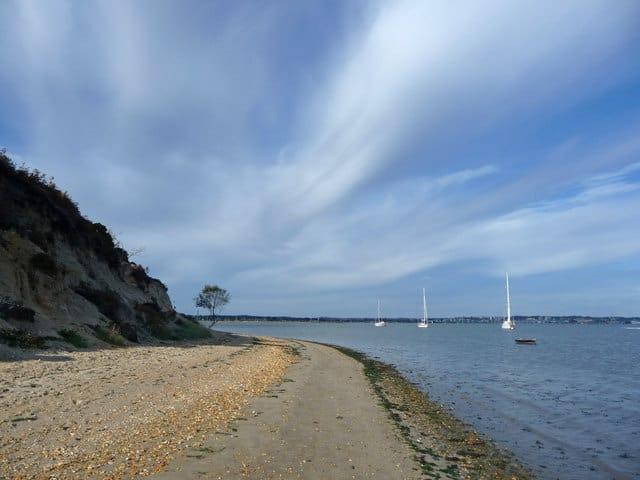 Shipstal Beach, Arne, Poole, Dorset