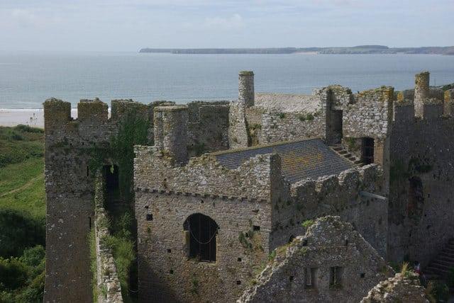Manorbier-Castle