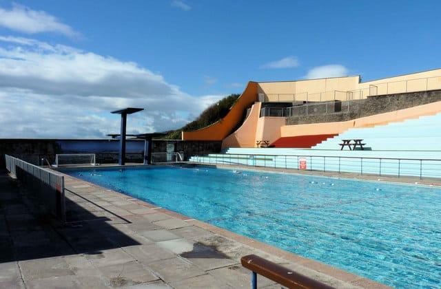 Portishead beach somerset uk coast guide - Open air swimming pool portishead ...