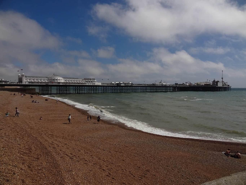 Brighton beach, Brighton, East Sussex