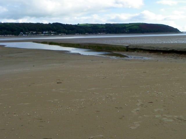 Llanstephan-beach