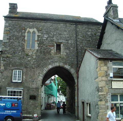 Cartmel-Priory-Gatehouse