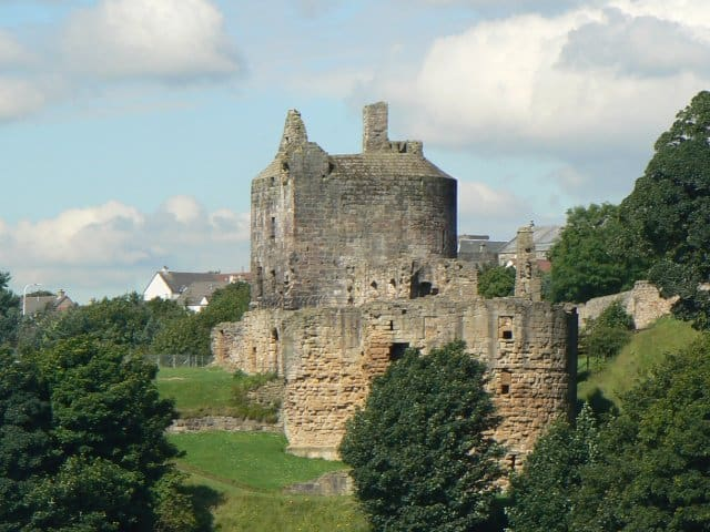 Ravenscraig-Castle