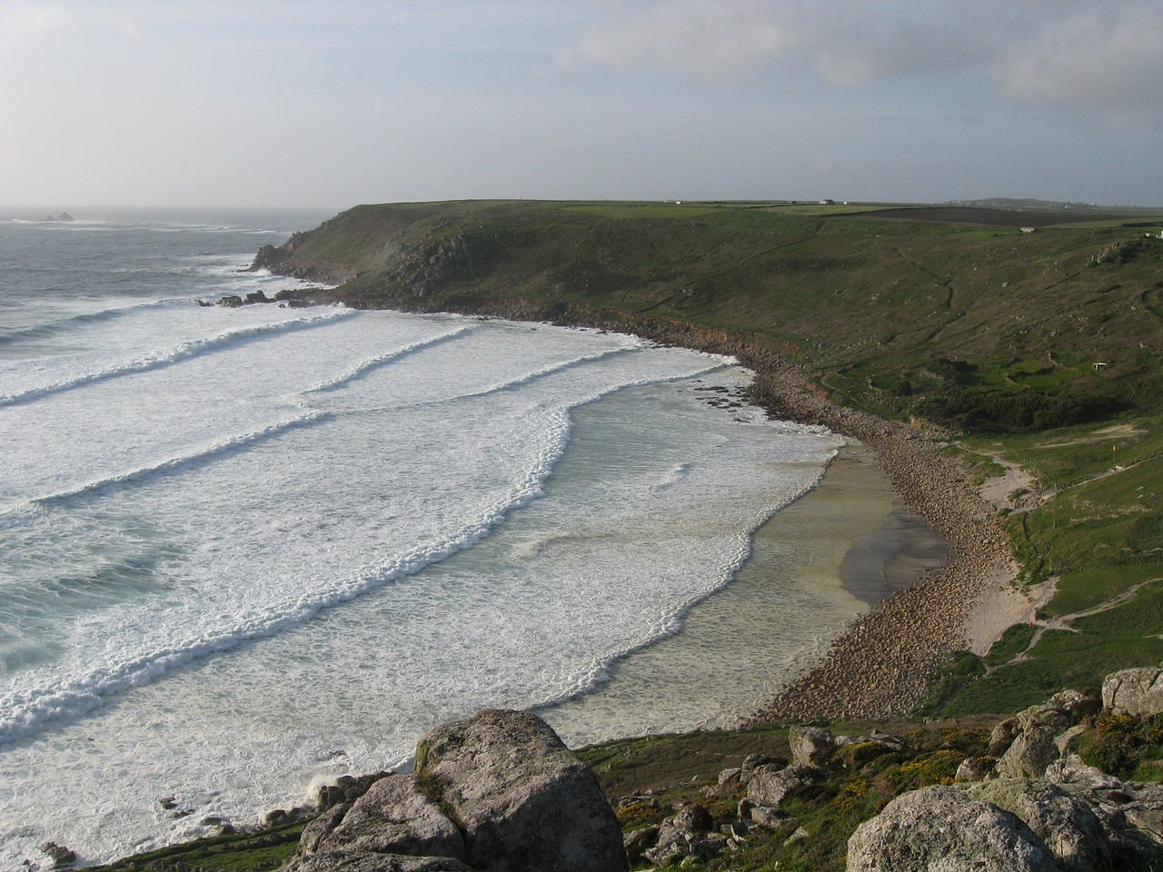 Gwenver Beach, West Cornwall