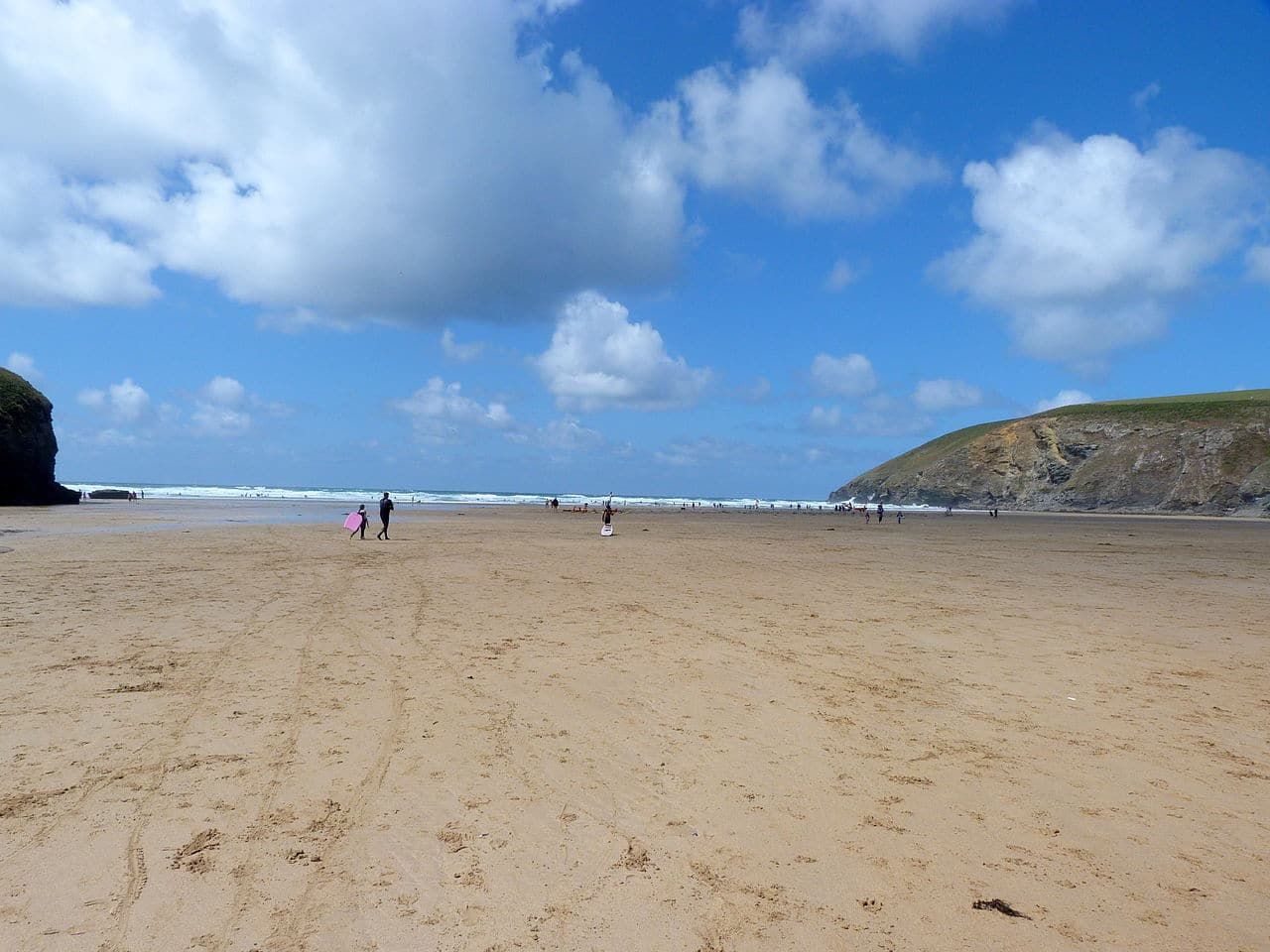 Mawgan Porth near Newquay in Cornwall