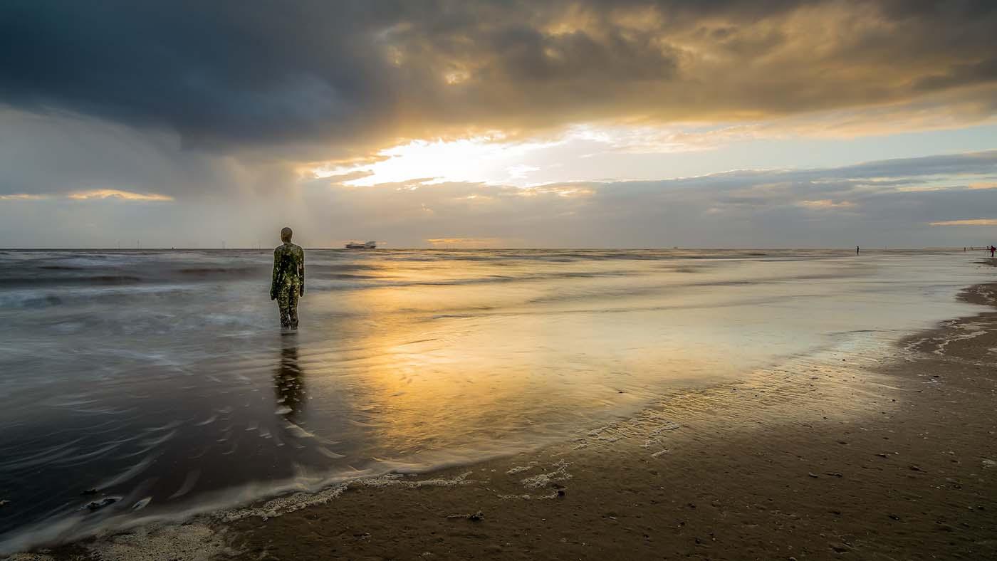 Liverpool coastline