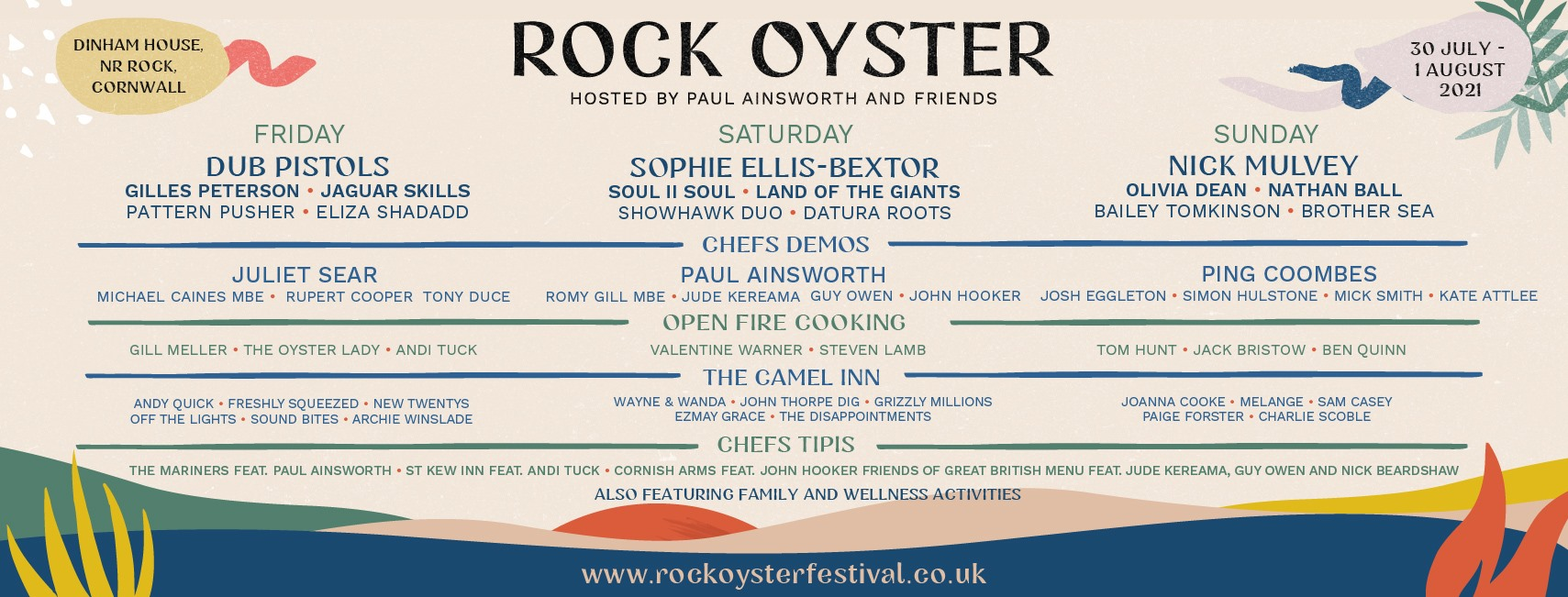 The Rock Oyster Festival